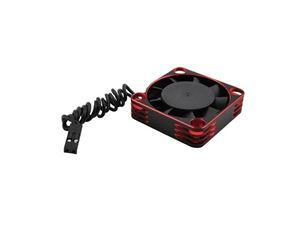 Immagine di Ventola in alluminio 40x40 per ESC e motore Red