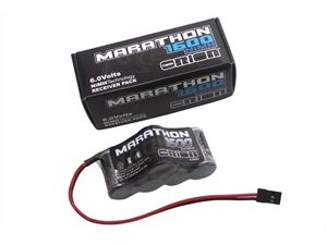 Immagine di Team Orion 1600 Receiver Pack 6.0V Off-Road Hump NiMH w/Universal Plug 24 AWG 68,30x34.5x32mm