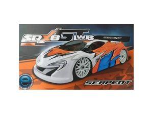 Immagine di Serpent - Cobra SRX8 GTE LWB 1/8 EP SER600060