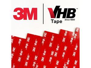 Immagine di 3M-Strisce di Biadesivo 3M VHB™ grigio 100x25x1,1 mm (20pz)
