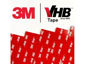 Immagine di 3M-Strisce di Biadesivo 3M VHB™ grigio 100x25x1,1 mm (5pz)