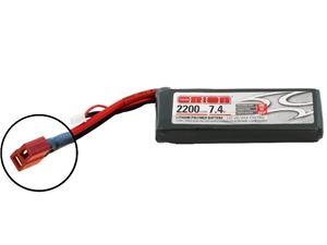 Immagine di Batteria Orion Lipo LED 7,4V 2200mAh 50C Deans  ORI60156