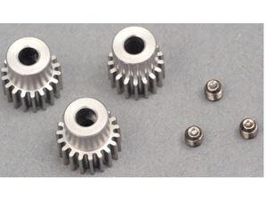 Immagine di LC RACING- EMB Set Pignoni Motore (17T, 18T & 19T) L6032