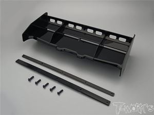 Immagine di T-WORK'S ALETTONE AIRFLOW BUGGY/TRUGGY 1:8 NERO TW-TO308-BK