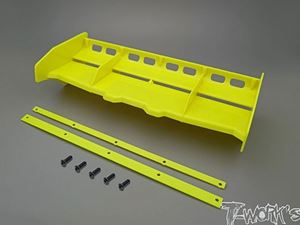 Immagine di T-WORK'S ALETTONE AIRFLOW BUGGY/TRUGGY 1:8 GIALLO TW-TO308-Y