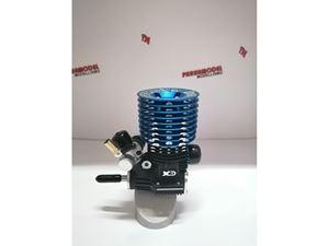 Immagine di XRD BLUE ENGINE F21-OFF MOTORE 1/8 OFF ROAD 7 TRAVASI CUSCINETTI IN CERAMICA