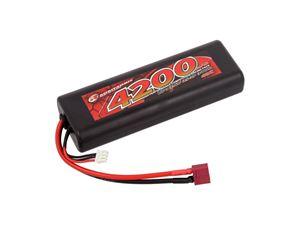 Immagine di Batteria LiPo Robitronic 4200mAh 2S 40C T-Plug Stick Pack