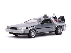 Immagine di MODELLINO DeLorean ritorno al futuro 2 SCALA 1:24 Con luci