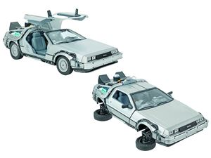 Immagine di MODELLINO DeLorean ritorno al futuro 2 SCALA 1:24 WELLY 39713