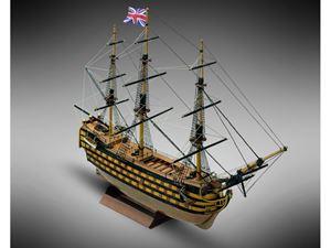 Immagine di Modellismo Navale Mamoli - H.M.S.VICTORY vascello 1 rango Sc. 1:325 L. 300 mm. H. 200 mm.