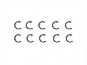 Immagine di Ricambi Serpent C-clip R7 (10) 110309