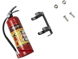 Immagine di Mini estintore in plastica accessorio per modelli Rock Crawler 1/10 vrx