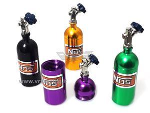 Immagine di Mini bottiglia protossido di azoto in alluminio accessori per modelli Rock Crawler 1 Pz