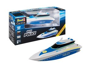 Immagine di REVELL 24138 Rc boat water police RTR