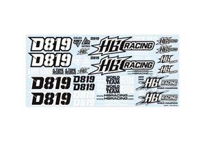 Immagine di HB RACING DECAL 819 204451