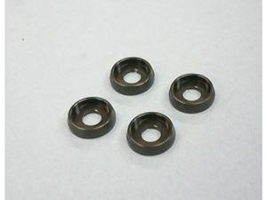 Immagine di ARM Rondelle M4 in Alluminio (4) Gun Metal