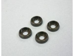 Immagine di ARM Rondelle M3 in Alluminio (4) Gun Metal